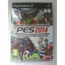 Pes 2014 Ps 2 Game !!! Frete Grátis !!!