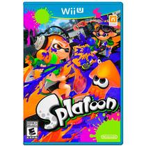 Jogo Splatoon Wii U Nintendo Original Lacrado