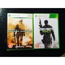 Call Of Duty Mw3 E Mw2 - Xbox 360 - Original