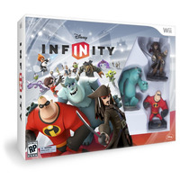 Box Novo Lacrado Disney Infinity Starter Pack Nintendo Wii
