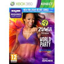 Jogo Novo Lacrado Zumba Fitness World Party Para Xbox 360