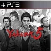 Yakuza 5 Ps3 Código Psn Receba Hoje