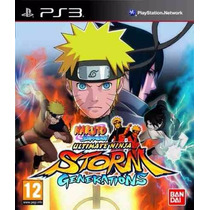 Naruto Shippuden Ultimate Ninja Game Original Ps3 A5522
