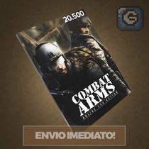 Combat Arms - Cartão De 20.500 Cash - Level Up - Imediato