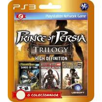 Trilogia Prince Of Persia (cód Ps3) 3 Jogos Pelo Preço De 1!