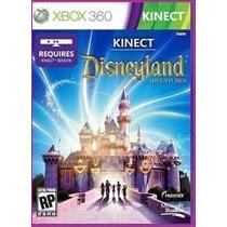 Jogo Kinect Disneyland Adventures Lacrado Original Xbox 360