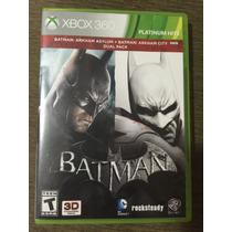 Batman: Arkhan Asylum + Batman: Arkhan City - Dual Pack Xbox