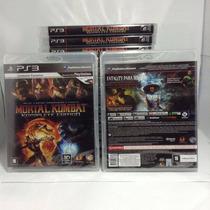 Mortal Kombat Komplete Edition Ps3 Lacrado Rcr Games