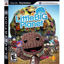 Little Big Planet Ps3 Original Mídia Física Lacrado