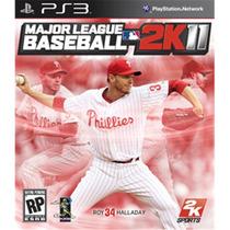 Super Game Ps3 Major League Baseball 2k11 Ps3 Frete Grátis