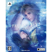 Final Fantasy X / X-2 Hd Remaster Twin Pack Ps Vita(2 Jogos)