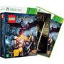 Jogo + Dvd Lego Hobbit Ed Llimitada Xbox 360 100% Português