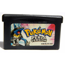 Pokemon Perla Version Salvando Nintendo Ds Game Boy Advance