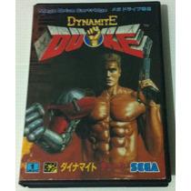 Dynamite Duke - Mega Drive Japonês