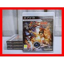 Street Fighter X Tekken Mídia Física - Ps3