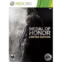 Medal Of Honor Ea Xbox 360 Original Lacrado A5457