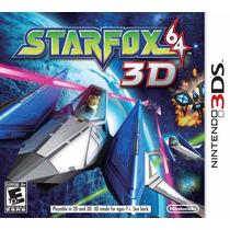 Jogo Star Fox 64 3d Para Nintendo 3ds A6096