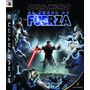 Jogo - Star Wars Force Unleashed Ps3 - Es - O Poder Da Força