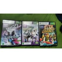 3 Jogos De Xbox Kinect
