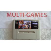 Wild Guns Japones Para Super Nintendo - Ótimo Jogo De Tiro