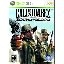 Jogo Para Xbox360 - Call Of Juarez Bound In Blood - Original