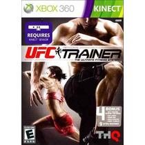 Ufc Trainer Kinect Mídia Física Xbox 360