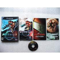 Game Cube: Metroid Prime 2 Americano Completo!! Raríssimo!!