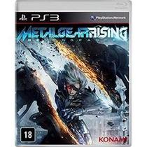 Metal Gear Rising Em Pt Ps3 Lacrado Venda / Troca