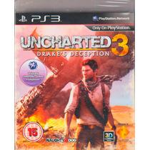 Uncharted 3 Drakes Deception - Envio Imediato - Lacrado -