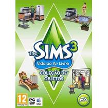 The Sims 3 - Vida Ao Ar Livre - Coleção De Objetos Pc & Mac