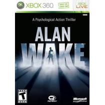 Alan Wake Xbox 360 Código (25 Digitos)