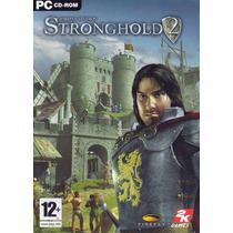 Jogo Game Stronghold 2 Pc Original Lacrado Cdrom