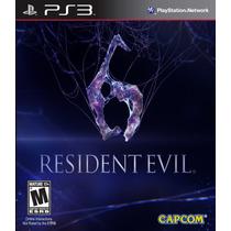 Resident Evil 6 Em Português Ps3 - Lacrado Pronta Entrega