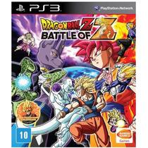 Dragon Ball Z Battle Of Z - Jogo Ps3 - Português - Em Disco