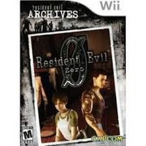 Resident Evil Archives: Zero - Wii Mídia Física