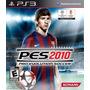 Pro Evolution Soccer Pes 2010 Jogo Ps3 Mídia Física