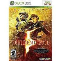 Resident Evil 5 Gold Edition Xbox 360 - Lacrado - Original