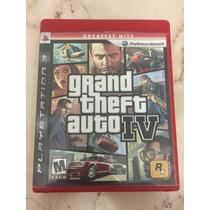 Oferta Jogo Gta 4 Iv Grand Theft Auto Ps3 Original Com Manua