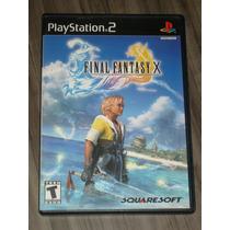Final Fantasy X ( Jogo Original Ps2, Americano )