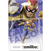 Amiibo Captain Falcon Super Smash Bros New Nintendo 3ds Wiiu