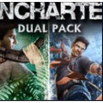 Uncharted Greatest Hits Dual Pack Jogos Ps3 Codigo Psn
