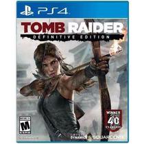 Tomb Raider Definitive Edition Português Ps4