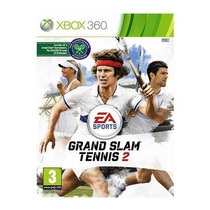 Grand Slam Tennis 2 Xbox 360 Novo Em Otimo Estado