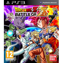 Jogo Lacrado Dragon Ball Z: Battle Of Z Para Playstation 3