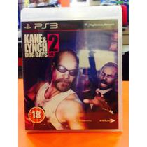 Jogo Kane E Lynch 2 Playstation 3, Jogo Físico, Ação/tiro