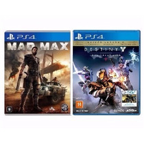 Destiny The Taken King + Mad Max Ps4 Rcr Games