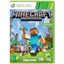 Minecraft Xbox 360 Midia Fisica + Nf