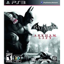 Batman Arkham City Ps3 3d Português Br