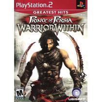 Prince Of Persia: Warrior Within Ps2 Original Usado