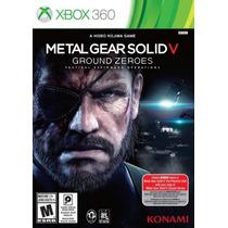 Jogo Metal Gear Solid V 5 Ground Zeroes Original Xbox 360